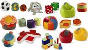 Детские пуфы,  диванчики,  мебель-игрушки