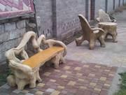 Производство  декоративных изделий из бетона,  художественные изделия и