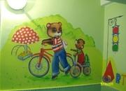 Уникальная роспись детских садов