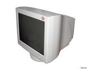 недорогие б/у ЭЛТ мониторы для компьютера c кинескопом