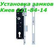 Замена замков и петель в металлопластиковых и алюминиевых дверях