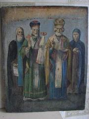 Продам старинные  иконы 18-19 века в хорошем состоянии,  написанные темперными красками.