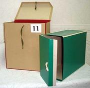 Архивные короба,  нотариальные папки под заказ