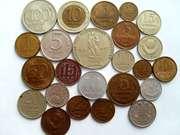 Монеты СССР 1949-1991 г,  жетоны метрополитена медные -продам