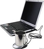 Для компьютера,  ноутбука - нагреватель для чашки - USB Hub на 4 порта