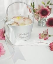 Cвадебная корзина для лепестков роз