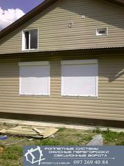 Роллеты,  роллеты на окна,  гаражные роллеты,  декоративные,  ремонт ролле