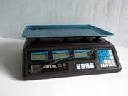 Весы площадка с калькулятором для торговли на 40 кг.