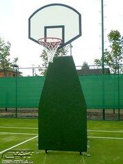 Стойка баскетбольная мобильная профессиональная и оборудование для бас