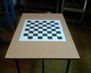 Стол шахматный.Производим шахматные столы