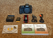 Canon EOS 7D Digital SLR Camera with Canon EF 28-135mm IS lens