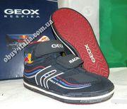 Ботинки-кроссовки кожаные детские фирмы