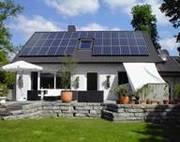 Солнечные батареи (фотоэлектрические модули) монтаж,  сервис Киев область