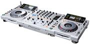 2x Pioneer  CDJ-2000 and  1 х DJM-900 Pack  LIMITED EDITION (WHITE)
