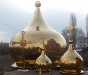 позолота иконостаса, купола Киев в Киеве