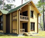 Строительство деревянных домов,  коттежей,  бань,  саун. Украина. Киев