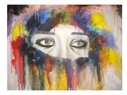 Эксклюзивная картина маслом на холсте Грусть из серии картин Эмоции
