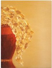 Картина маслом на холсте Золотые цветы