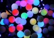 Гирлянда Бахрома шарики