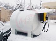 Модульная АЗС для топлива (ДТ,  бензин,  керосин,  мочевина)