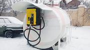 Модульная АЗС для ДТ,  бензин,  керосин,  мочевина