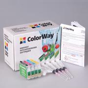 Перезаправляемые картриджи ПЗК Epson XP33/103/203 ColorWay