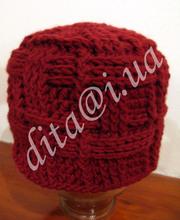 Зимняя шапка hand-made