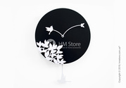 Эксклюзивные настенные часы Progetti Little bird's story Wall Clock