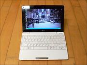 Изящный, тонкий нетбук Asus Eee PC 1008HA.