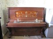 2Отреставрированное  немецкое пианино с благородным звучанием