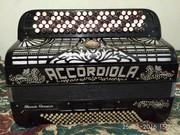 итальянский баян- Accordiola Grande concerto- made in Italy
