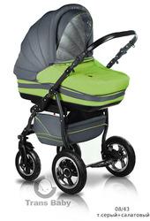 Коляски для новорожденных,  коляска 2 в 1 Mars от Trans baby