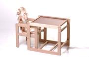Стульчик для кормления деревянный
