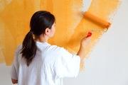 Покраска потолка и стен