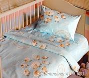 Постельное белье для новорожденных,  Комплект Считалочка