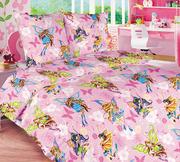 Детское постельное белье оптом,  Комплект Винкс