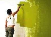 Покраска стен,  потолков Киев