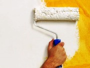 Покраска стен потолков