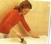 Поклейка обоев подготовка стен
