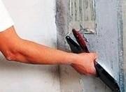 Беспесчанка,  выравнивание стен и потолкa