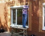 Ремонт алюминиевых и металлопластиковых дверей Киев,  замена петель,  за