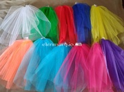 Свадебные,  цветная фата,  для девичника