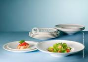 Набор фарфоровых тарелок,  купить по выгодной цене
