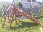 Детские деревянные горки