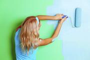 Покраска стен Поклейка обоев в Киеве и пригороде