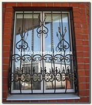 Кованые решетки на окна изготовление под заказ в Киеве