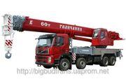 Услуги кранов 40,  60,  80 - 300 тонн