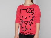 Футболка,  кофта,  реглан Hello Kitty