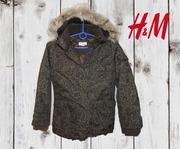 Куртка h&m р 135см
