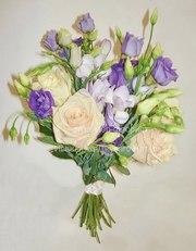 Свадебный букет из ароматных пионов,  букет невесты из пионов под заказ